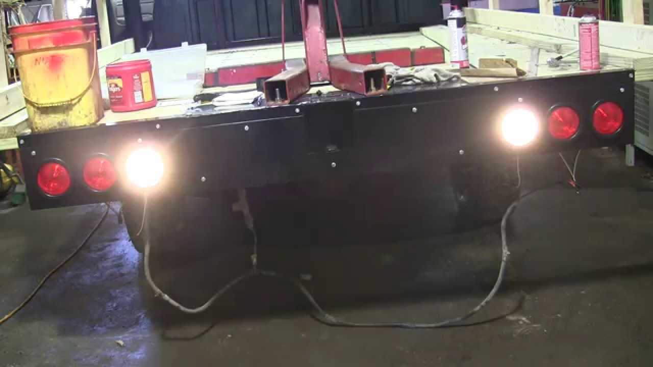 medium resolution of taillights for the flatbed truck youtube flatbed led tail lights flatbed light wiring diagram