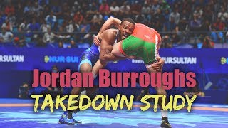 Jordan Burroughs Takedown Study - Entries & Split Step