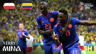 Yerry MINA Goal - Poland v Colombia - MATCH 31
