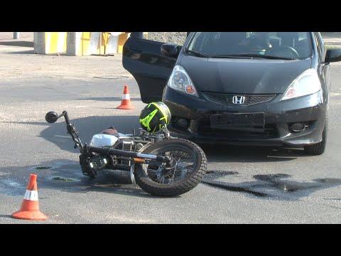 Очередное ДТП участием мотоцикла