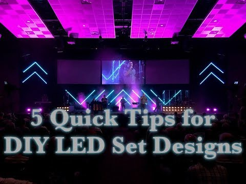 5 Quick Tips for DIY LED Tape Light Set Designs