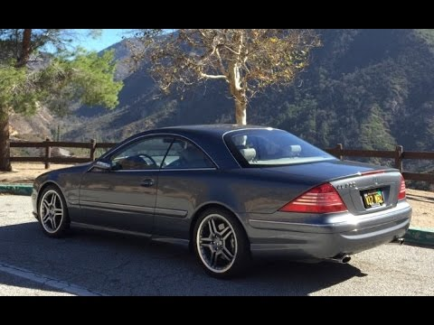 2005 Mercedes CL600 Sport - One Take