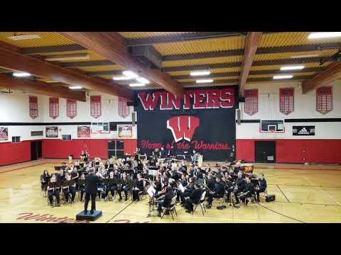 Winters High School Band and Yolo Community Band 11/6/19