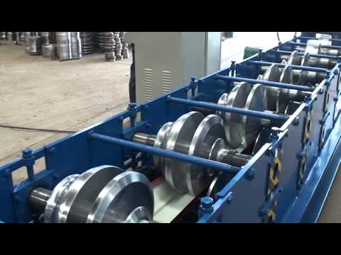 Water Gutter Roll Forming Machine, Seamless Gutter Machine For Sale