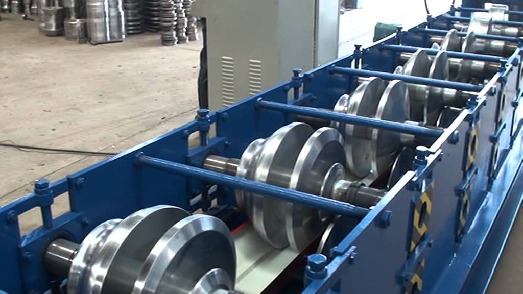 Water Gutter Roll Forming Machine Seamless Gutter Machine