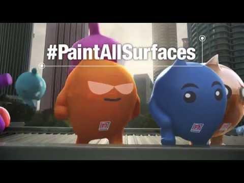 Nippon Paint Coatings: #PaintAllSurfaces