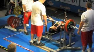 150 kg @ 71 kg Yulia Chistyakova IPF junior WORLDS 2012