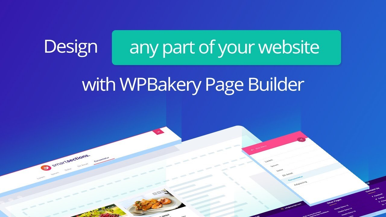 WPBakery Page Builder Add-on - Smart Sections Theme Builder