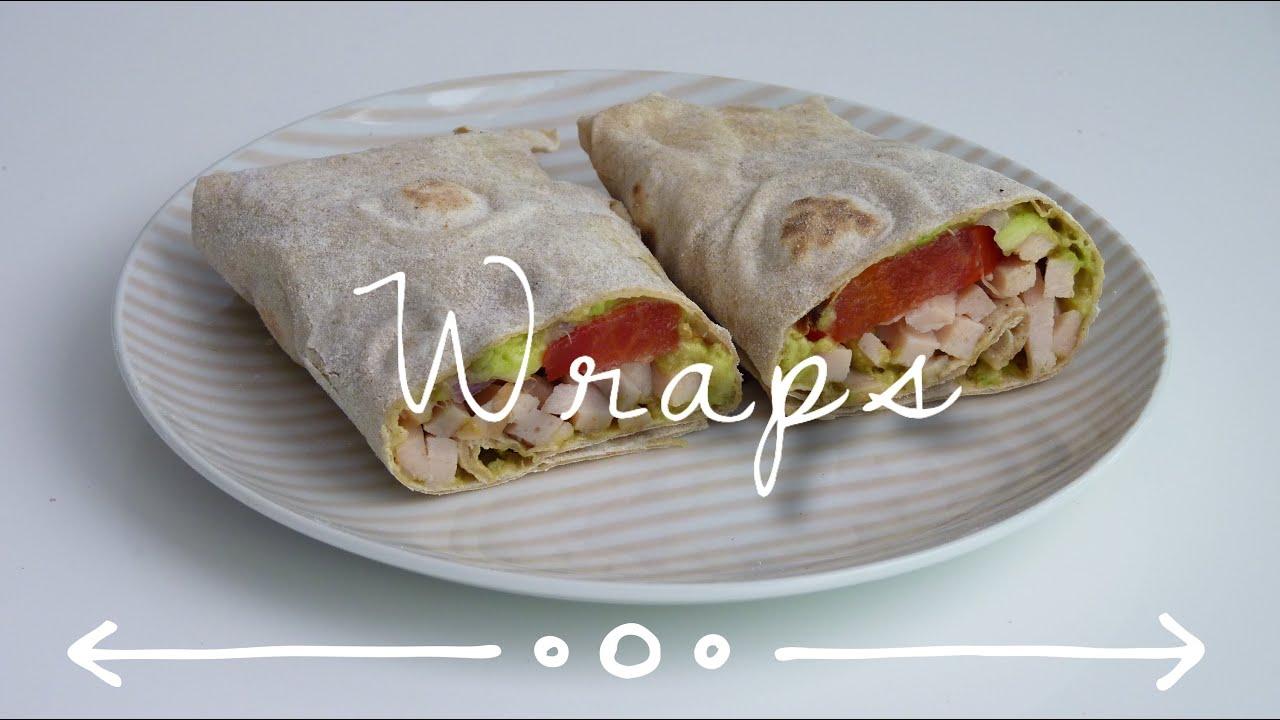 recette tortillas wrap guacamole youtube. Black Bedroom Furniture Sets. Home Design Ideas