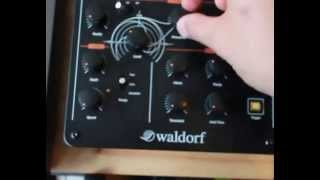 Giraffe Audio Waldorf 2-Pole Demo