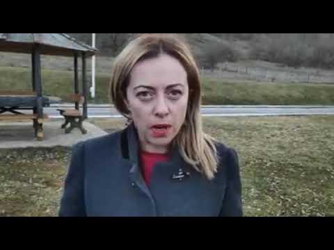 Giorgia Meloni: Il PD che chiede scusa alla Francia dimostra di essere.....un partito di TRADITORI!