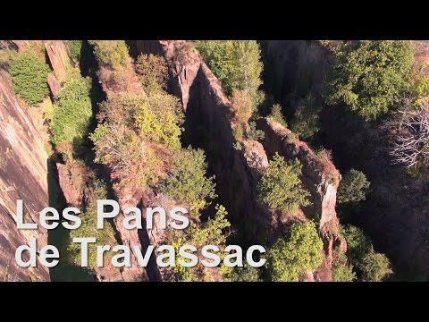 Les Pans de Travassac - Corèze - France - Vue du Ciel Drone Expert