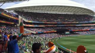 India vs Pakistan World Cup 2015 | National Anthem |  | CRICKET WORLD CUP