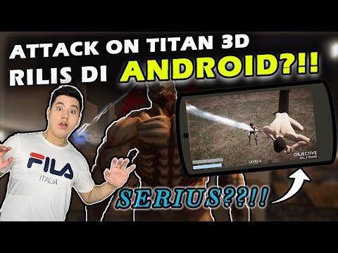 GAME ATTACK ON TITAN GUA JADI GAME HP!!!