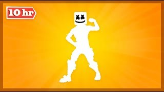 SKIN MARSHMELLO Dancing Gesture *MARSHANDO* for 10 HOURS Fortnite Battle Royale