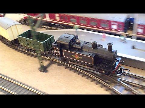 Tri-ang Railways  R.52 Jinty 0-6-0 Tank Locomotive in Goods Train Set RS.4