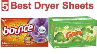 Top 5 Best Dryer Sheets - Dryer Sheets Reviews