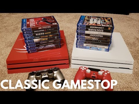 Trading In My ENTIRE PS4 Collection To GAMESTOP In 2018... How Much Will They Pay Me??
