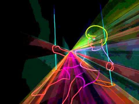 Лазерное шоу на День Города Старый Оскол