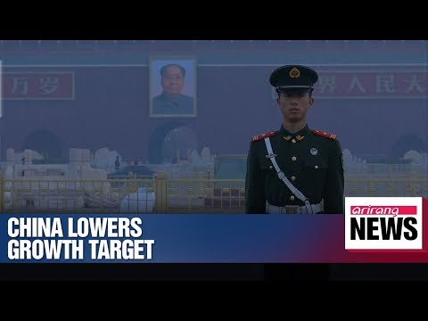 China lowers economic growth target for 2019