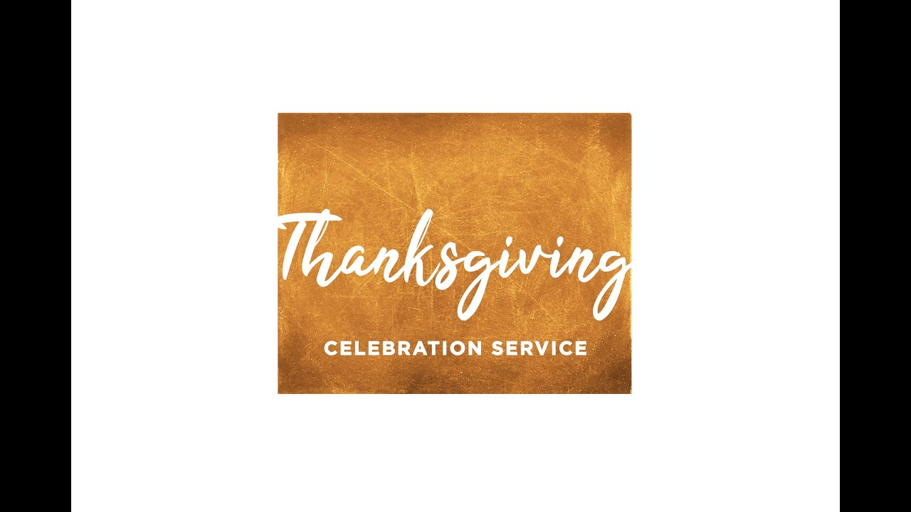 Thanksgiving Day Service!