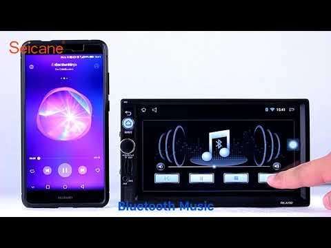 2 Din Universal Radio GPS Navigation Audio system with Bluetooth Music