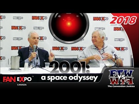 2001: A Space Odyssey 50th Anniversary  Fan Expo Canada 2018 Full Panel