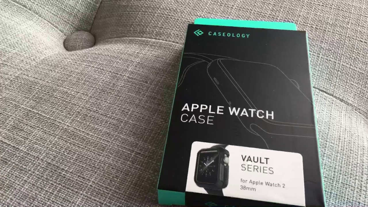 half off e0d6b c2f85 One Of The Best Apple Watch Cases Around — Unboxing The Caseology Bumper  Case