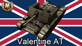 戰車世界 英國 驅逐坦克 Valentine AT / World of Tanks U.K. TD Valentine AT