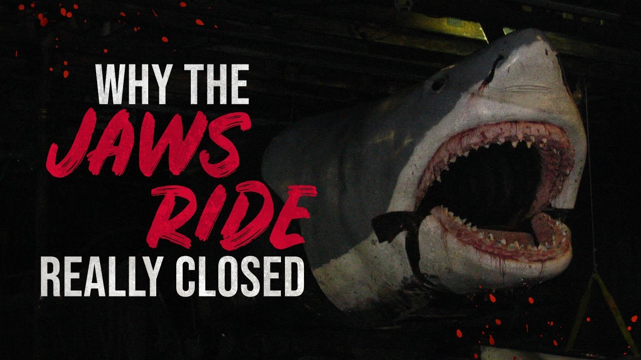 Why The Jaws Ride Really Closed - Universal Studios Creepypasta