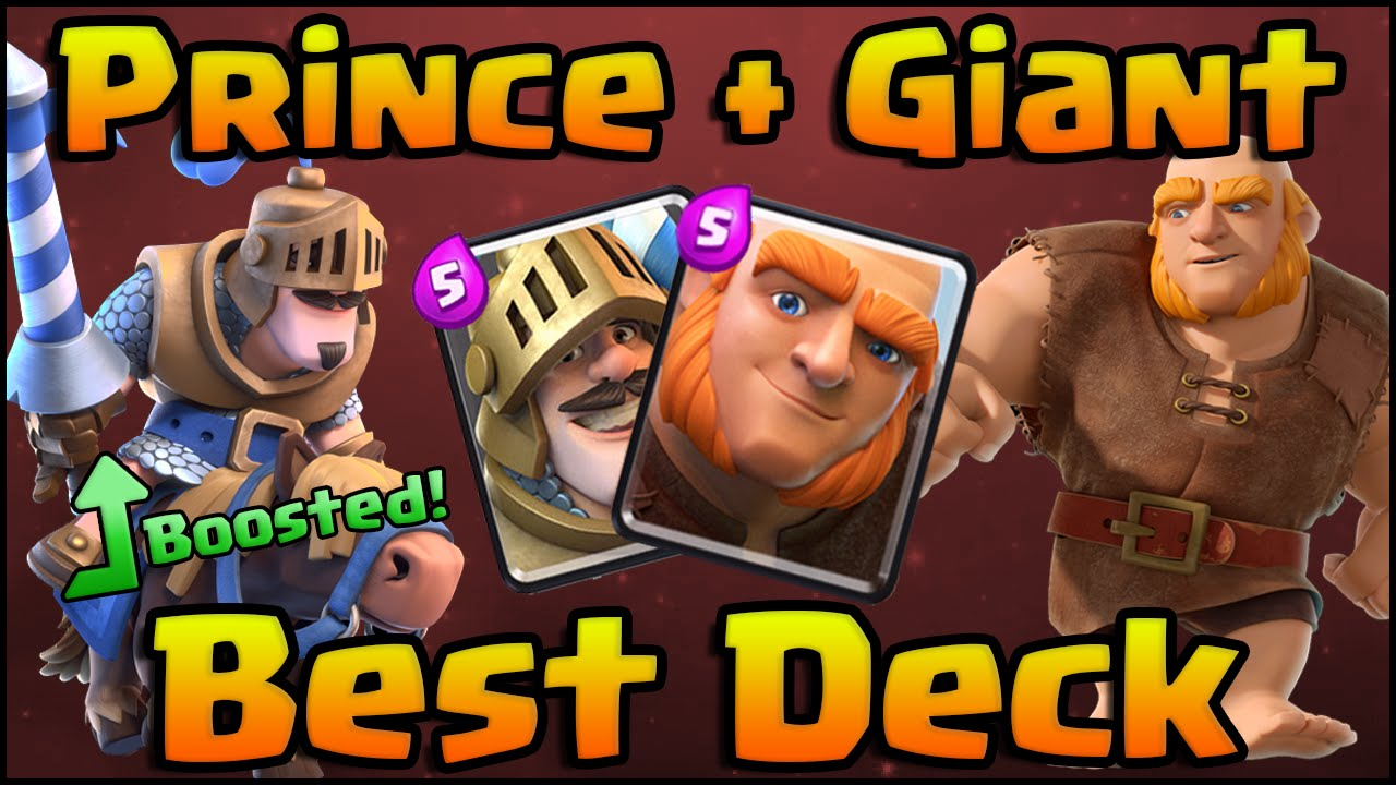 Clash Royale - Best Prince + Giant Deck and Strategy for Arena 6, 7, 8 ...