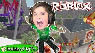 Roblox Laser Stay Alive Sheriff Madness HobbyPigTV