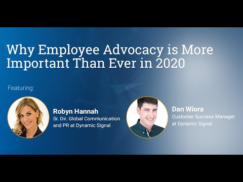 Why Employee Advocacy Is More Important Than Ever In 2020