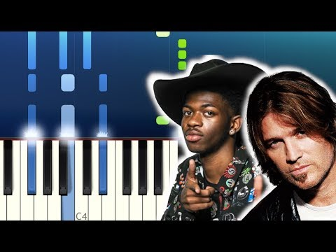 Lil Nas X - Old Town Road feat Billy Ray Cyrus Piano Tutorial