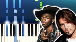 Baixar Lil Nas X - Old Town Road (feat. Billy Ray Cyrus) (Piano Tutorial)