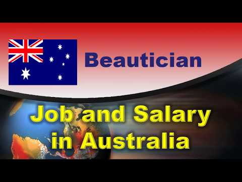 Beautician Job And Salary In Australia - Jobs And Wages In Australia