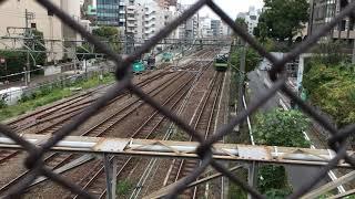 #29 JR山手線 外回り 猿楽橋より恵比寿駅方面