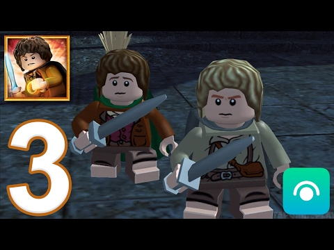 LEGO The Lord Of The Rings - Gameplay Walkthrough Part 3 (iOS, Android)