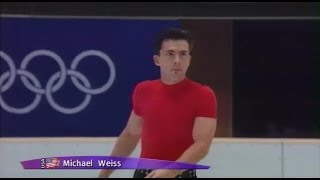 [HD] Michael Weiss - 1998 Nagano Olympics - SP