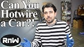 How to hotwire a car & disable steering wheel lock - YouTube