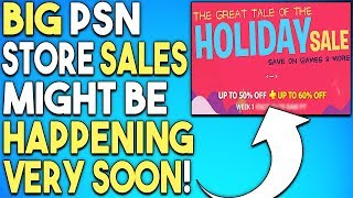 Big PSN Store Sales Might Be Happening Very Soon!