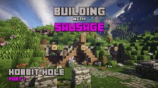 Minecraft - Building with Sausage - Hobbit Hole - Part 1!!!