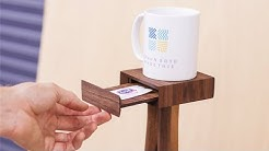 The One Cup of Coffee Table -- it has magnets, too!