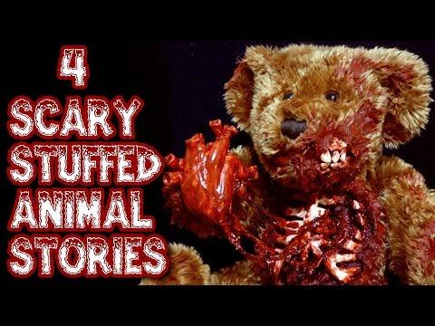 4 SPOOKY Stuffed Animal Stories