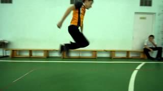 Видео-урок, прыжки с места