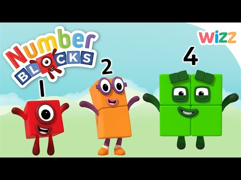 Numberblocks - How to Count   Wizz   Cartoons for Kids