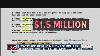 Call 6: Sovereign citizens demand millions of dollars from city, state