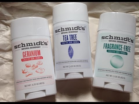 Schmidt's Sensitive Skin Deodorant Review {Gluten Free}