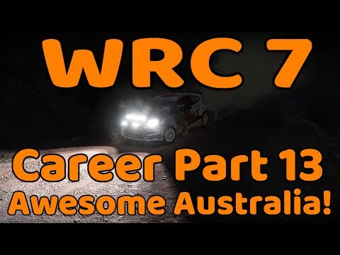 WRC 7 Career Season 2 Finale! - Part 13 Awesome Australia!