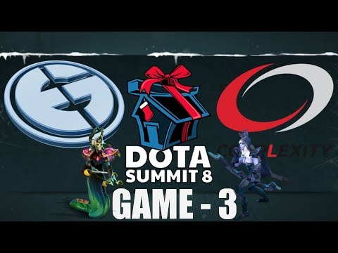 EVIL GENIUSES vs COMPLEXITY - The Summit 8, 3 Series - GAME 3 [HIGHLIGHTS]